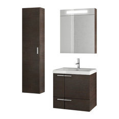 "23"" Wenge Bathroom Vanity Set"