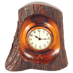 Old world map small suitcase clock desk and mantel clocks by the bark clock gumiabroncs Gallery