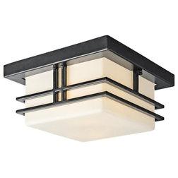 Craftsman Outdoor Flush-mount Ceiling Lighting by Luna Warehouse