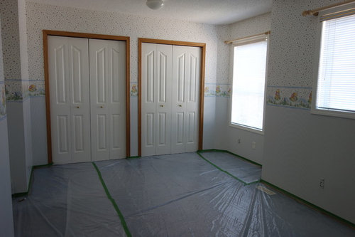 what color to paint a room with blue carpet