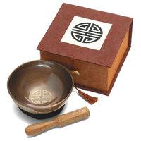 Tibetan Meditation Bowl and Box: 4'' Longevity