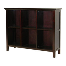 Ferndale 6-Shelf Display/Bookcase In Espresso