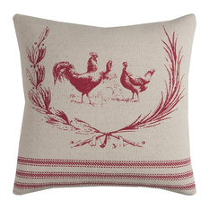 """Rizzy Home 20""""x20"""" Pillow"""