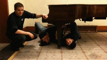 Grand Piano delivery in the Ritz- Carlton Hotel , Boston, MA
