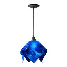 jezebel inc jezebel radiance flame pendant large cobalt blue pendant blue pendant lighting