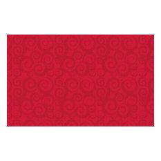 Swirl Tone-On-Tone Cherry Rug, 10'9x13'2
