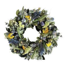Lavender Bundle Wreath, Small