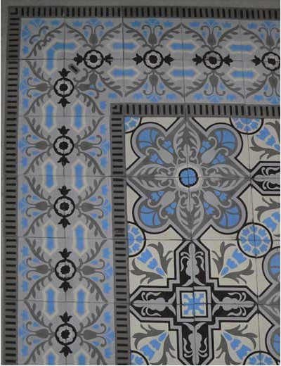 Transitional Tile by Avente Tile