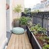 Avant/Après : Potager ludique et productif sur petit balcon