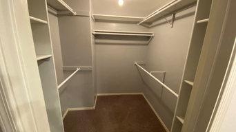 Master closet job #1 after