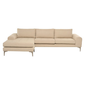 Colyn Sectional Sofa Sand Silver
