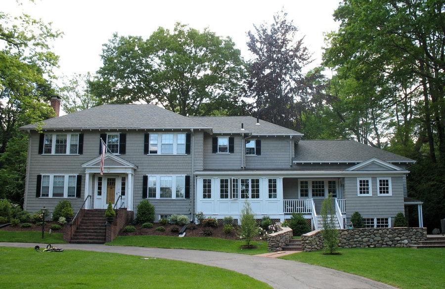 50 Lawson, Winchester, MA - Kitchen & Family Room