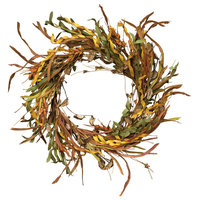 """Fall Wheat and Grass Wreath, 20"""""""