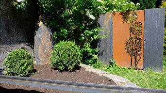Gartengestaltungselemente
