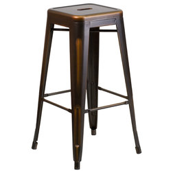 Industrial Outdoor Bar Stools And Counter Stools by GwG Outlet