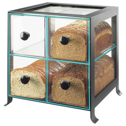 Contemporary Bread Boxes by Cal-Mil Plastic Products Inc