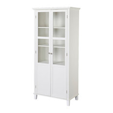 MOD   Eleanor 2 Door Storage Cabinet, White   China Cabinets And Hutches