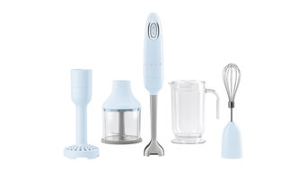 Smeg Retro 50's Hand Blender, Blue