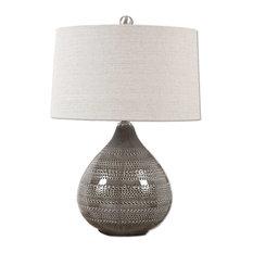 Uttermost Batova Smoke Gray Lamp