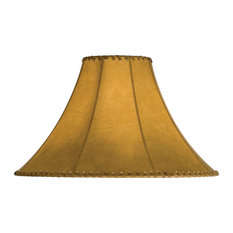 Most popular southwestern lamp shades for 2018 houzz meyda lighting fauxleather tan hexagon shade 18 x 12 lamp shades aloadofball Image collections