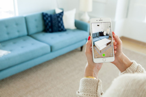 try out products in your room with houzz s enhanced app