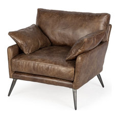 Peter Premium Chair Made From Espresso-brown