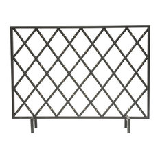 Bamboo Fire screen, Black