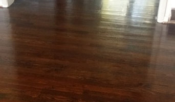 Hardwood floor refinishing - Dark walnut
