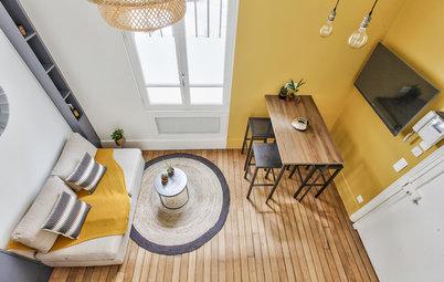 Visite Privée : Un petit studio de 18 m² qui a tout d'un grand