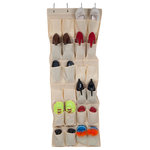Lavish Home - Over-the-Door Shoe Rack Organizer, 24 Shoes by Lavish Home - Save time and space with this Over the Door Shoe Organizer!