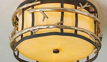 Twig Cage Flush Mount Ceiling Light
