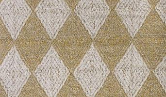 Americana Diamond Crochet-Stitched Throw, Earth