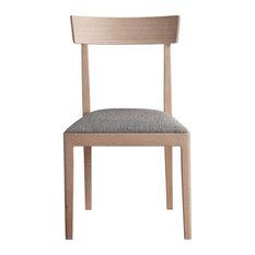 Jasmine Dining Chairs White Oak Set Of 2