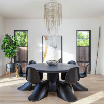 French Modern Spec Home-Dining room