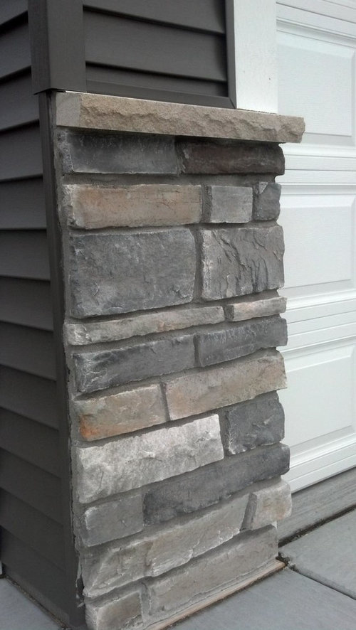 Where Can I Find This Dark Gray Vinyl Siding And Stone