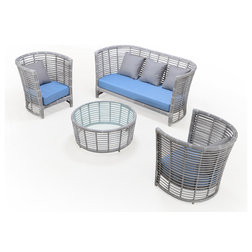 Modern Outdoor Lounge Sets by CEETS