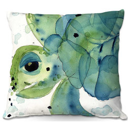 Beach Style Outdoor Cushions And Pillows by DiaNoche Designs