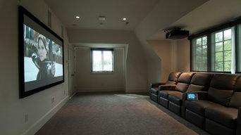 Bonus Room Home Theater Remodel