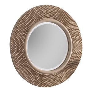 Brienne Wall Mirror, Ivory, 79x79 cm