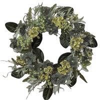 """Farm House Hydrangea Wreath -24"""""""