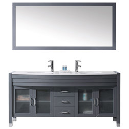 Contemporary Bathroom Vanities And Sink Consoles by Virtu USA