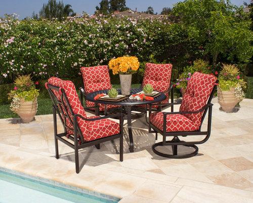 alumont patio furniture santa barbara hanamint alu mont fishbecks