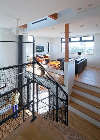 モダン 階段 by ルフトプラン一級建築士事務所