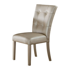 Acme Voeville Side Chair Platinum Set Of 2 72027