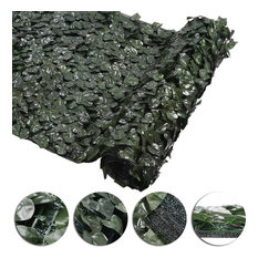 "39x158"" Artificial Ivy Leaf Fence Screen Panel Mesh Backing Privacy Yard Decor"