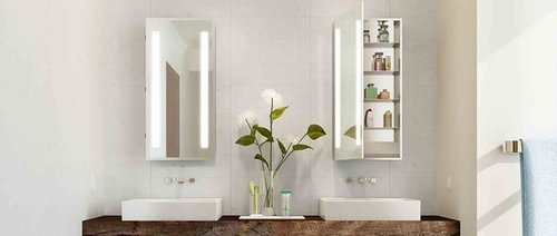 Medicine Cabinet Options From Electric Mirror