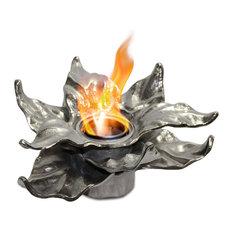 Anywhere Fireplace Botanical Heathcote Silver