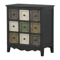 Coast To Coast Three Drawer Chest With Power In Multi Color Finish 22616