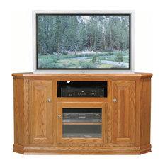 Eagle Furniture Classic Oak 56.75-inch Tall Corner TV Cart M