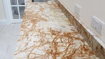 Roma Imperiale granite worktops